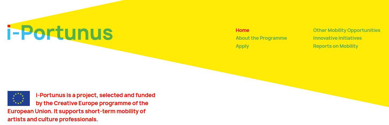 Call aberta i-PORTUNUS : Esquema de mobilidade para artistas e profissionais da cultura